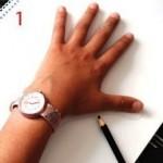 Vẽ đôi tay 3D